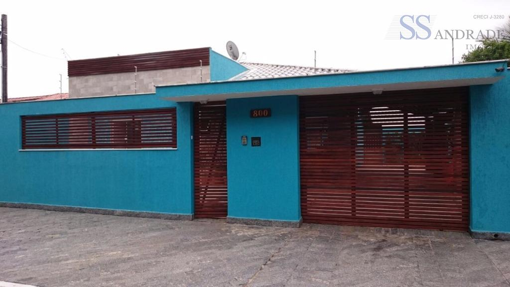 Casa residencial à venda, Jardim Britânia, Caraguatatuba.