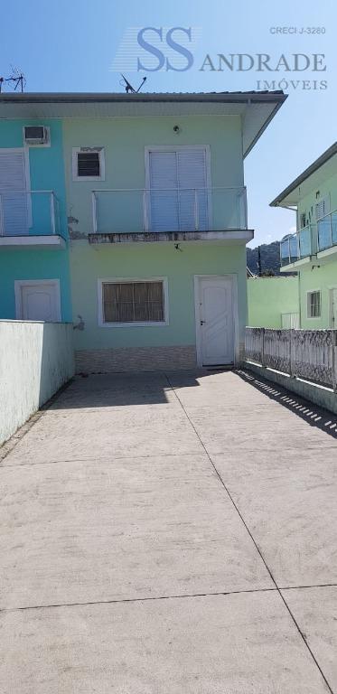 Casa com 2 dormitórios à venda, 90 m² por R$ 245.000 - Massaguaçu - Caraguatatuba/SP
