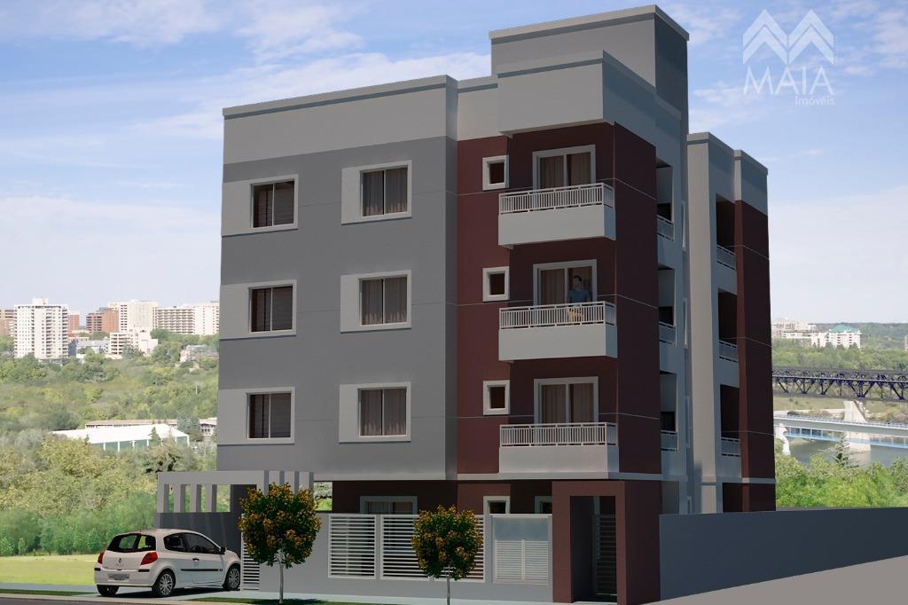 Apartamento residencial à venda, Aristocrata, São José dos Pinhais.