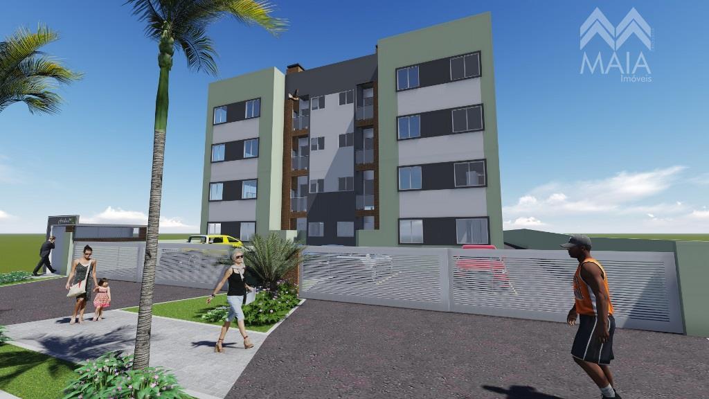 Apartamento residencial à venda, Cruzeiro, São José dos Pinhais.