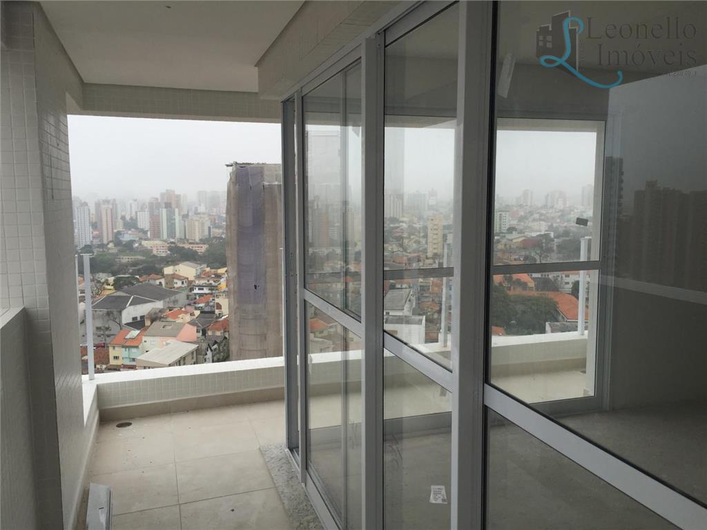 Apartamento à venda, 137m², 3 suítes, var gourmet, 4 vagas! Bairro Jardim, Santo André.