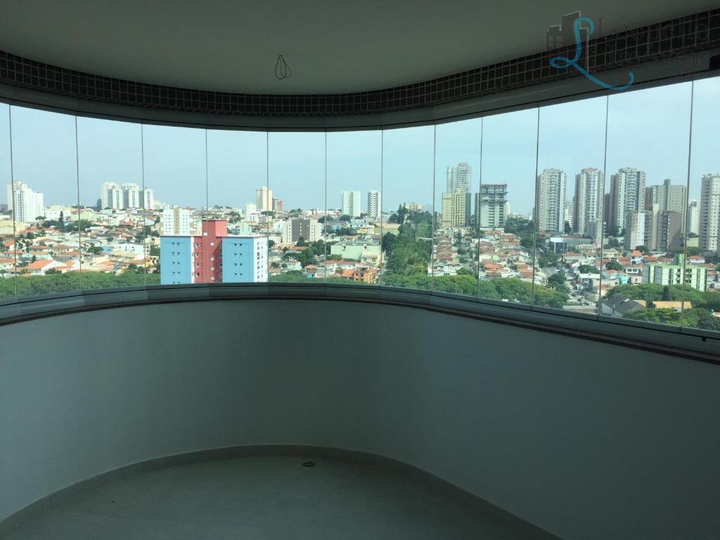 Apartamento residencial à venda, novo, 408 m², 5 dorm, 5 vagas, Bairro Jardim, Santo André.