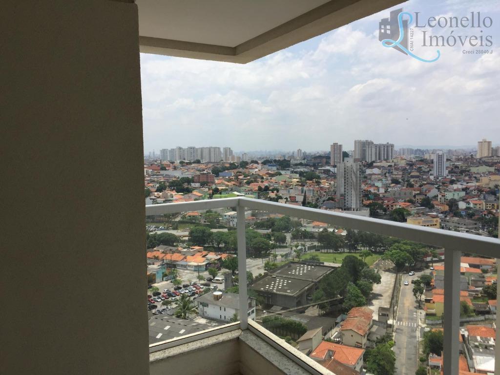 Apartamento residencial à venda, 57m², 2 dorm, 1 suíte, 2 vagas. Bairro Jardim, Santo André.