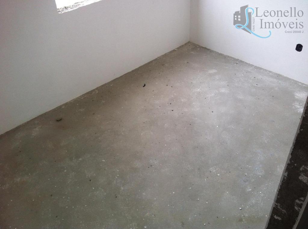 Apartamento  residencial à venda, 67m², 2 dorm, terraço gourmet, 2 vagas. Vila Gilda, Santo André.