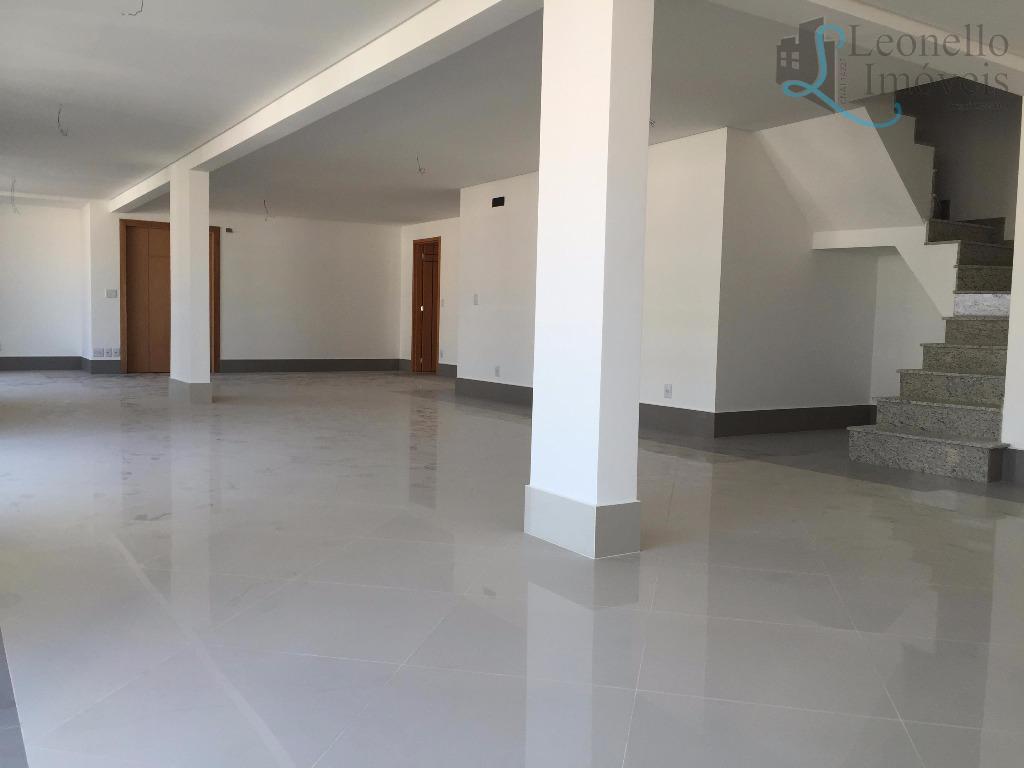 Cobertura triplex penthouse à venda. 398 m², 4 suítes e 6 vagas. Centro, São Bernardo do Campo, SP..