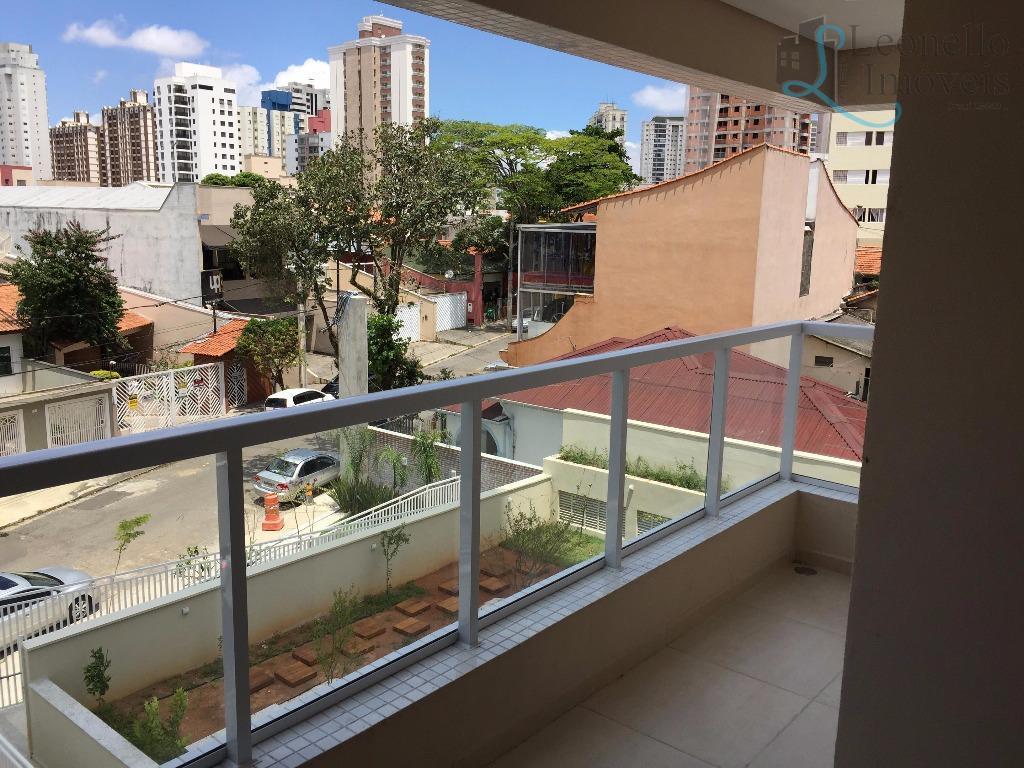 Apartamento residencial à venda, 87 m², 3 dorm, 1 suíte. Vila Bastos, Santo André.