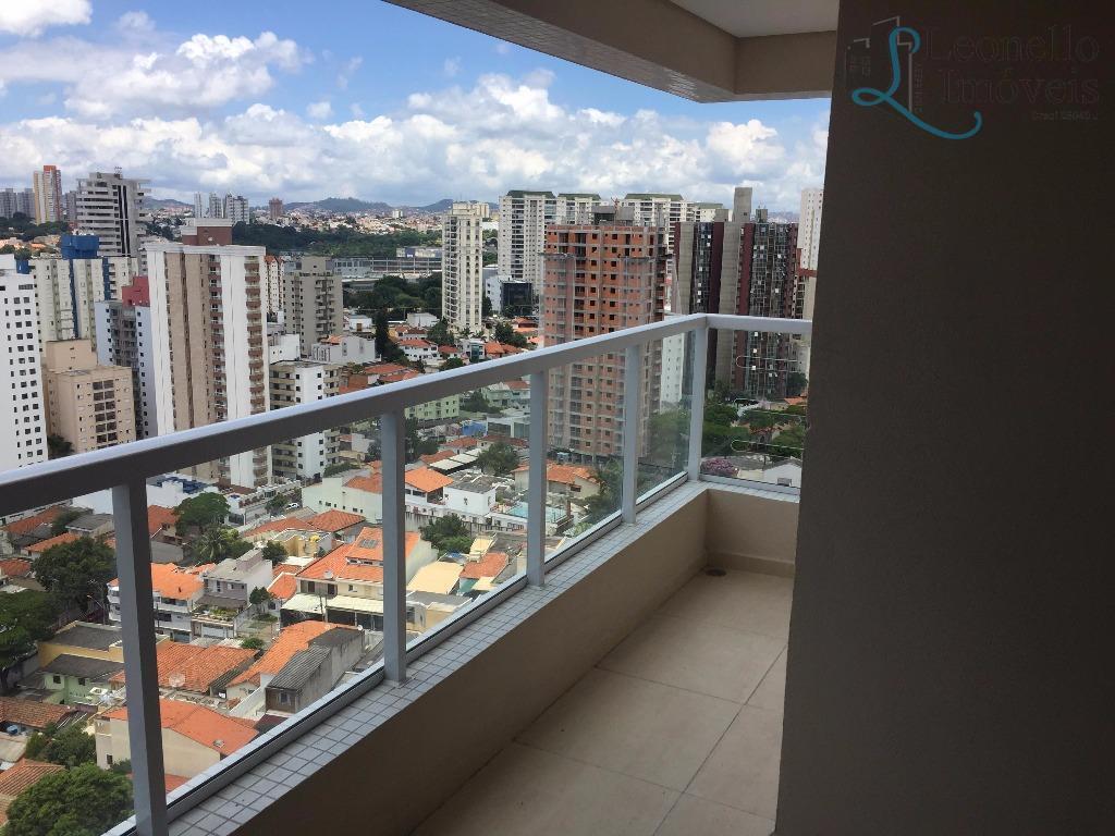 Apartamento residencial à venda, 89 m², 3 dorm, 1 suíte e 3 vagas. Vila Bastos, Santo André.