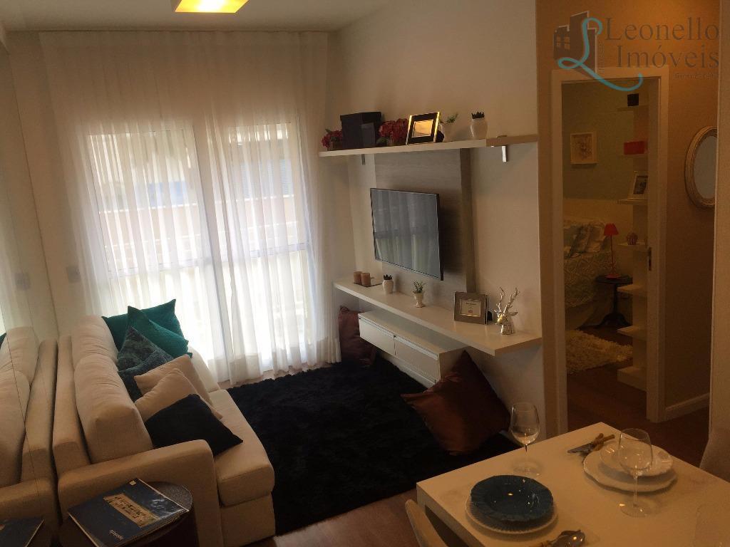 Apartamento residencial à venda, 54 m². Casa Branca, Santo André.