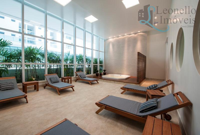 apartamento com 128 m² de área privativa, frente para a praia!!! possui 2 suítes, sala 2...
