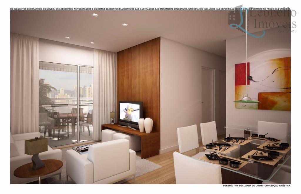 Apartamento residencial à venda. 87 m², 3 vagas e varanda gourmet!!!  Vila Bastos, Santo André.