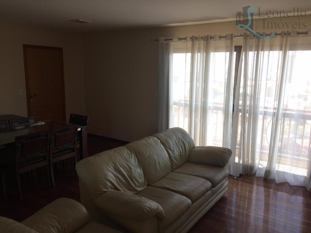 Apartamento residencial à venda ou locação!!! 127 m², 3 dorm, 1 suíte, 2 sacadas e 2 vagas!!! Vila Pires, Santo André.