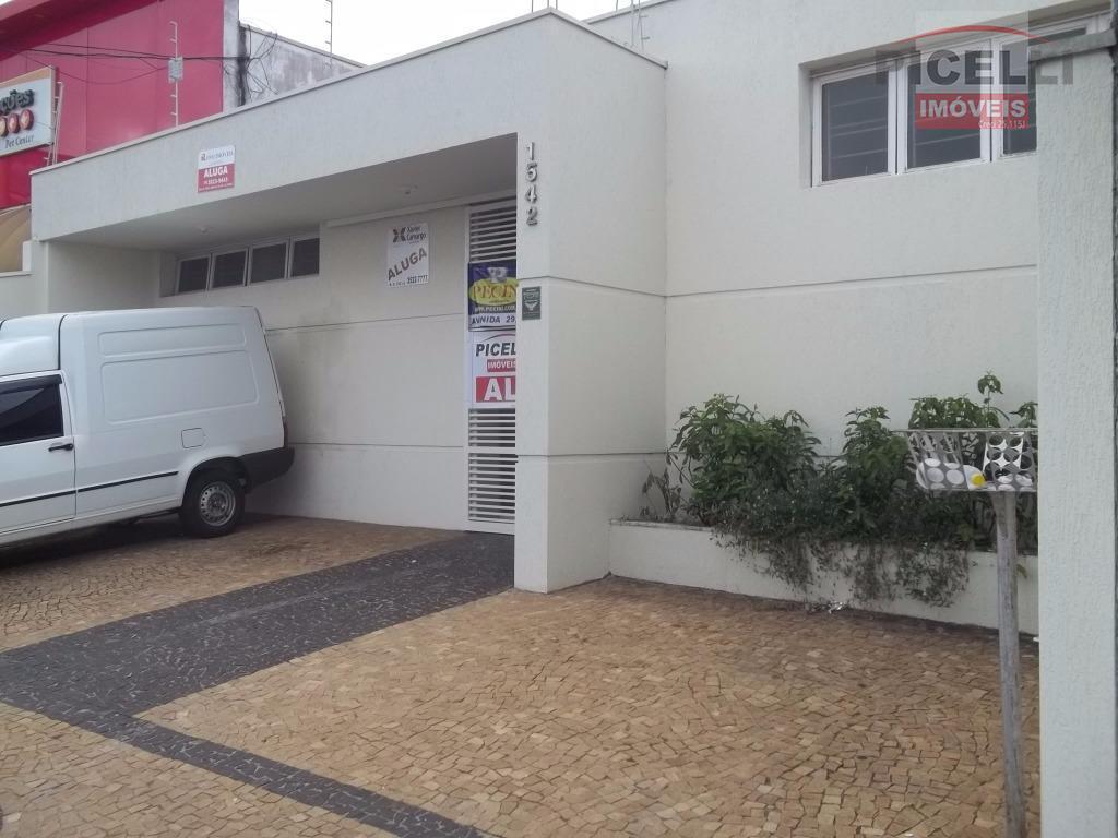 Casa comercial para locação, Vila do Rádio, Rio Claro.