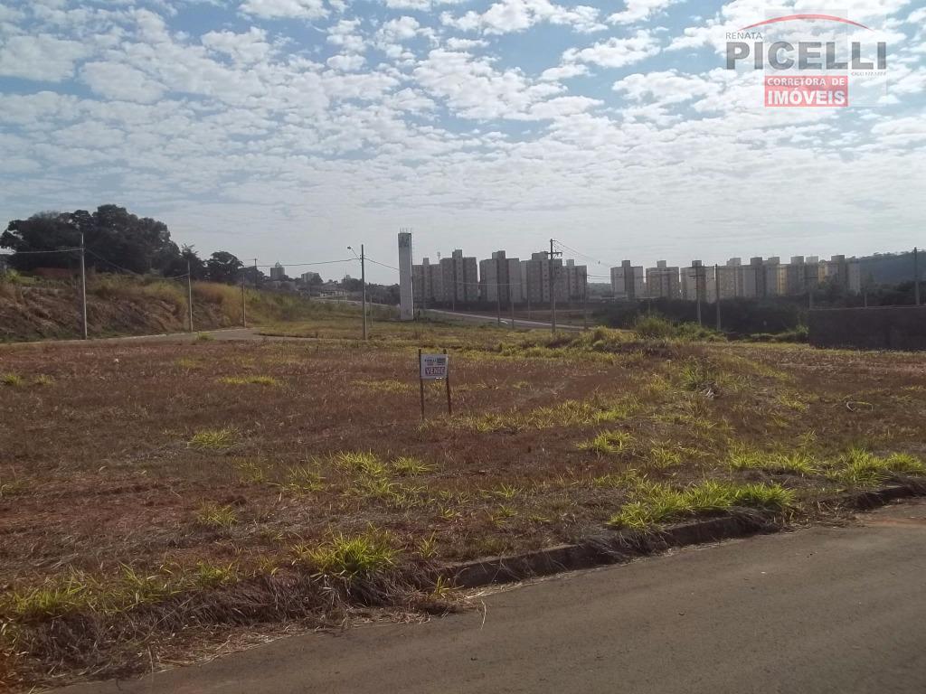 Terreno residencial à venda, Jardim Residencial Copacabana, Rio Claro.