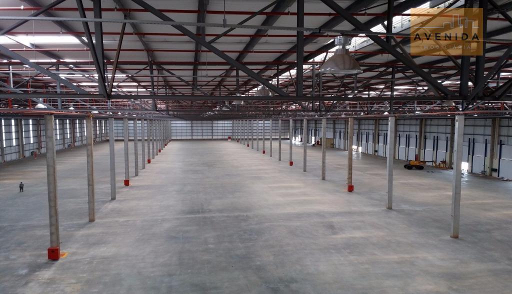 Barracão industrial para locação, Betel, Paulínia.
