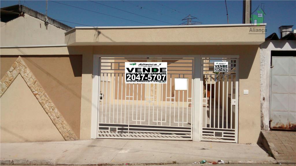 Sobrado residencial à venda, Vila Rosaria, São Paulo.