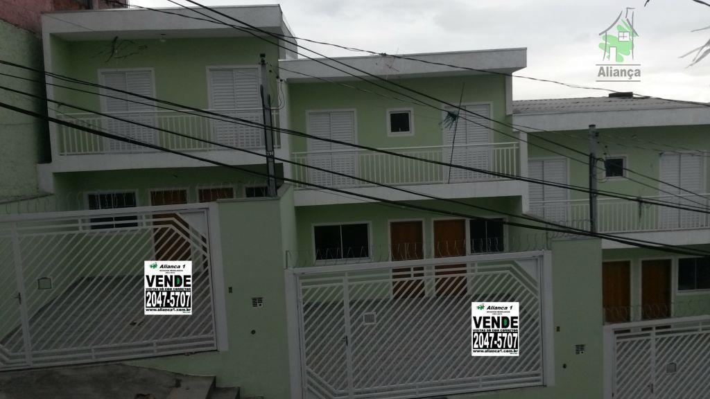 Sobrado residencial à venda, Vila Santa Cruz, São Paulo.