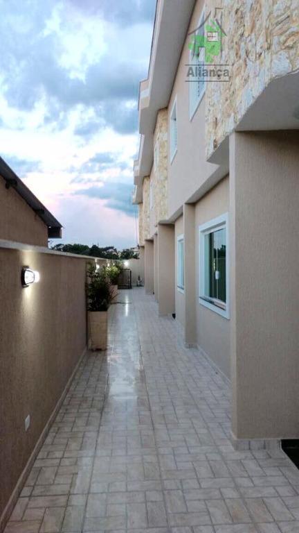sobrados novos em condominio fechado em ermelino matarazzo, 2 amplas suites totalmente prontas com acabamento de...