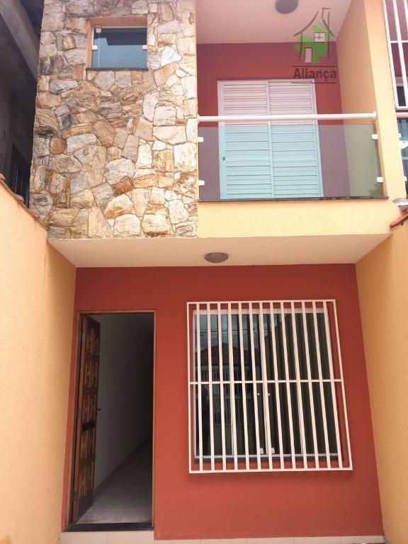 Sobrado novo na Vila Nova Yorque, 3 suites 2 vagas