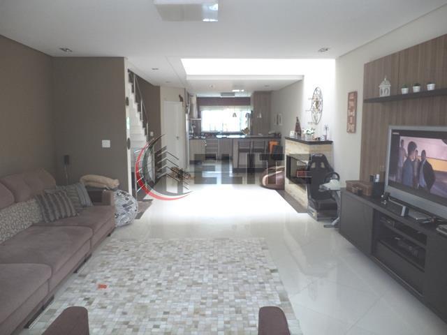 Sobrado residencial à venda, Bairro Jardim, Santo André - SO0213.