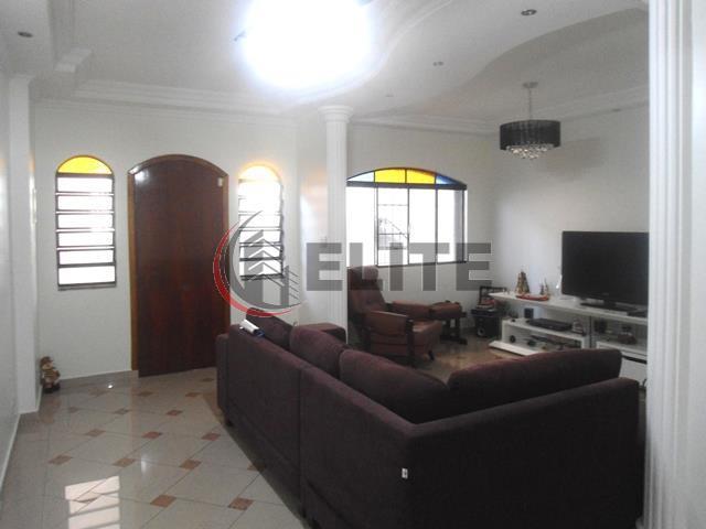 Sobrado residencial à venda, Vila Bastos, Santo André - CA0041.