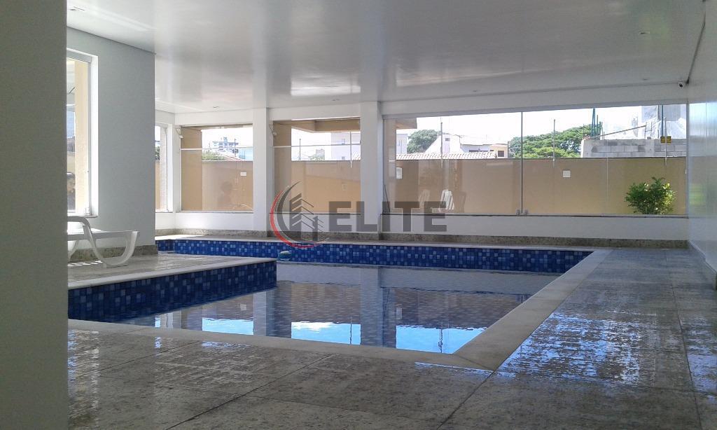 Apartamento residencial à venda, Vila Valparaíso, Santo André - AP0685.