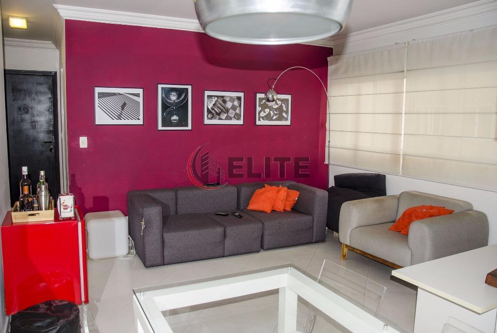 lindo apartamento no bairro jardimlocalização privilegiada, local nobre1 dormitório ampliado com closet, sala para 2 ambientes,...