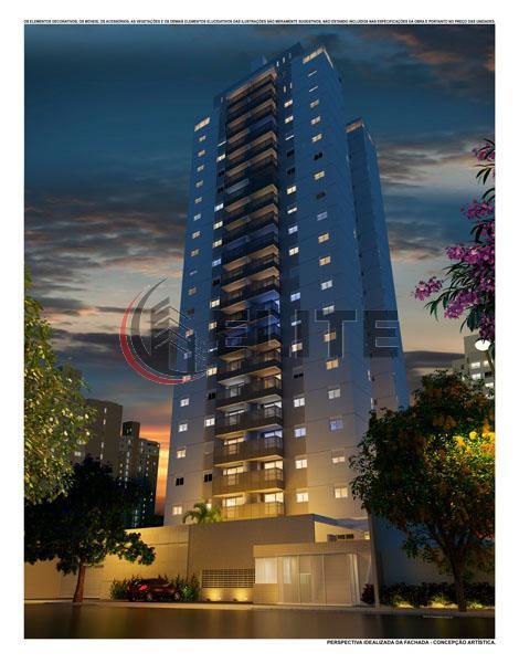 Apartamento Novo Vila Gilda próximo shopping ABC Com Sacada Gourmet  -2 Vagas