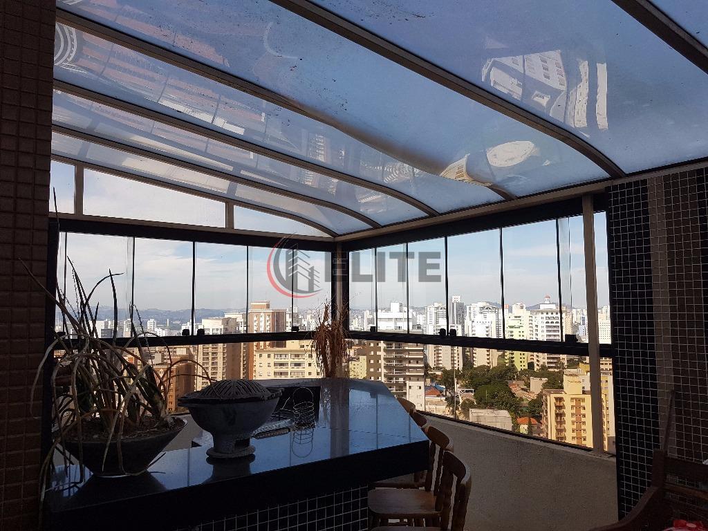 cobertura maravilhosa - vila bastos - piscina privativa - área gourmet maravilhosa, 03 dormitórios, suíte, living...
