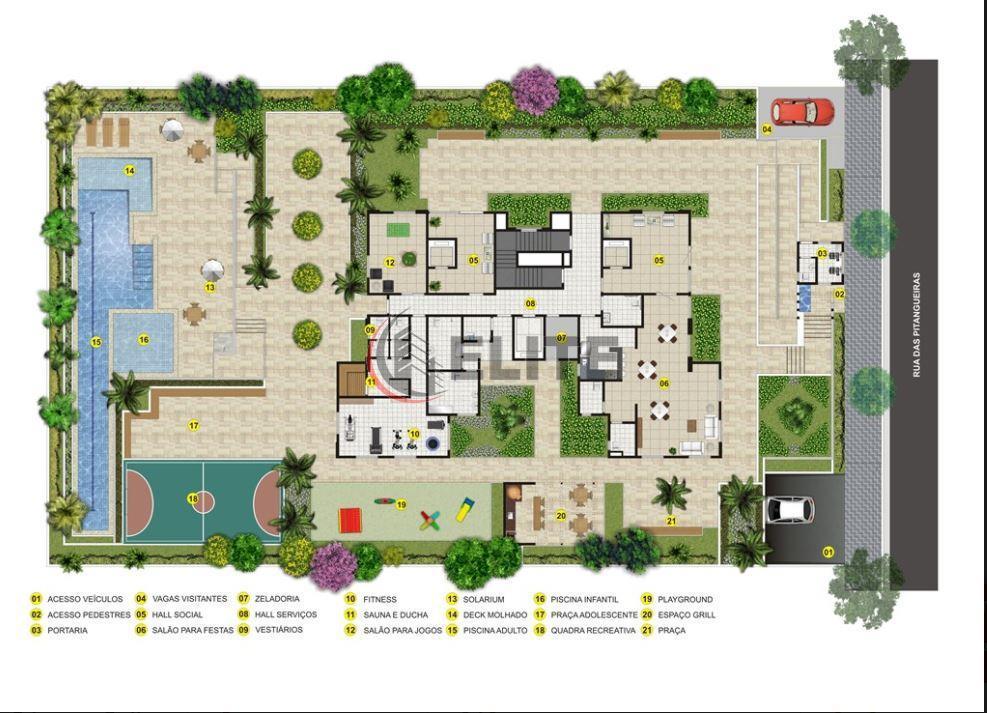 b. jardim - novo - projeto com 139m² privativos - 04 vagas (sendo 2 paralelas)>>grande oportunidade...