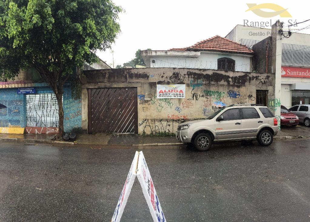 Casa comercial para locação, Vila Lourdes, São Paulo.