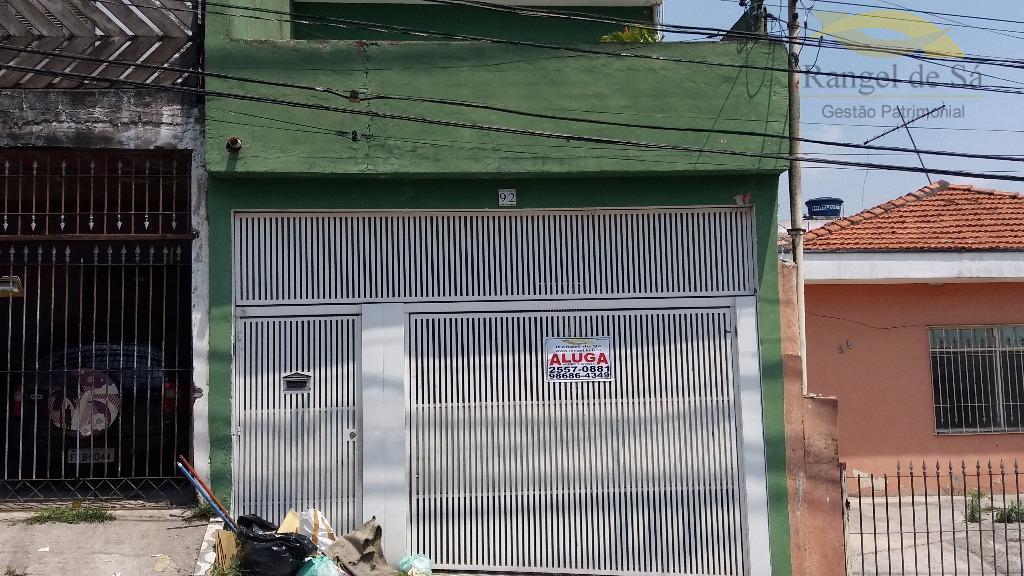 Casa  residencial para locação, Vila Marilena, São Paulo.