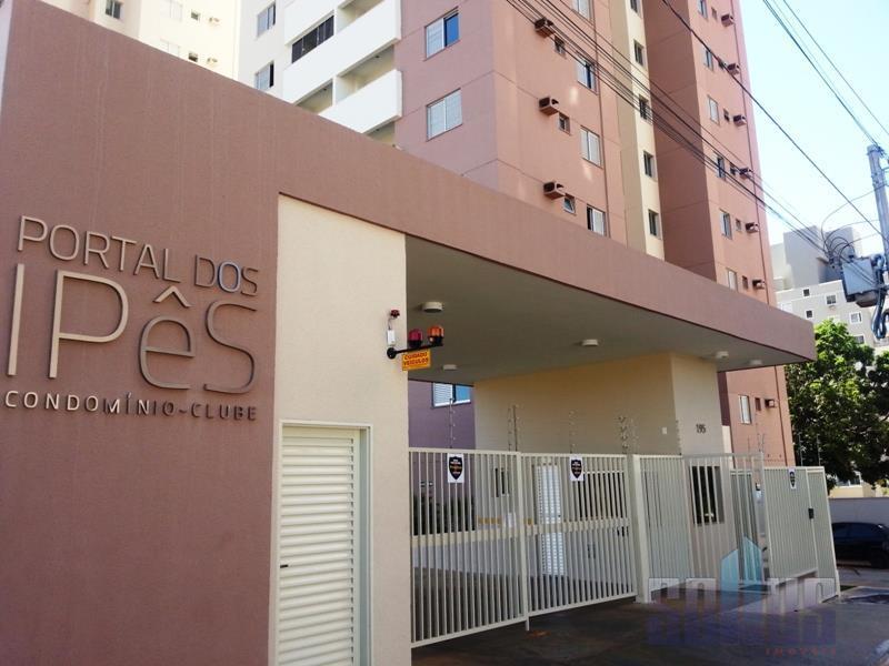 Apartamento residencial para locação, Setor Negrão de Lima, Goiânia - AP0012.