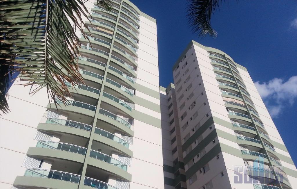 Apartamento residencial à venda, Cidade Jardim, Goiânia.