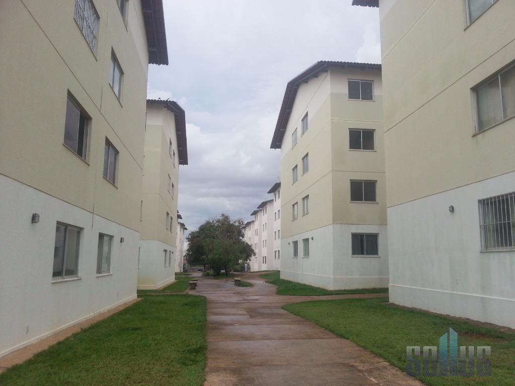 Apartamento residencial para locação, Condomínio Santa Rita, Goiânia.