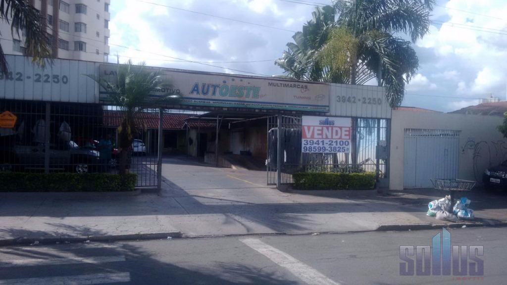 Terreno comercial à venda, Setor Oeste, Goiânia.