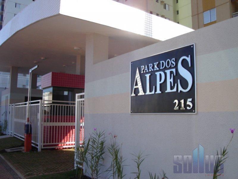 Apartamento residencial para locação, Vila dos Alpes, Goiânia.