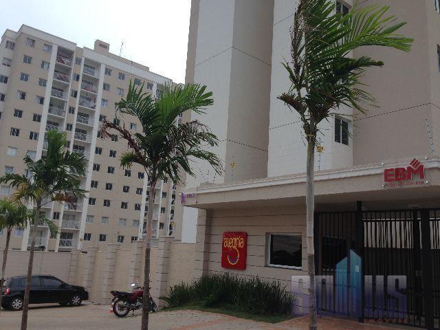 Apartamento residencial para locação, Feliz, Goiânia.