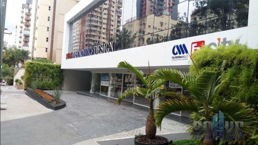 Sala comercial para locação, Setor Bueno, Goiânia.