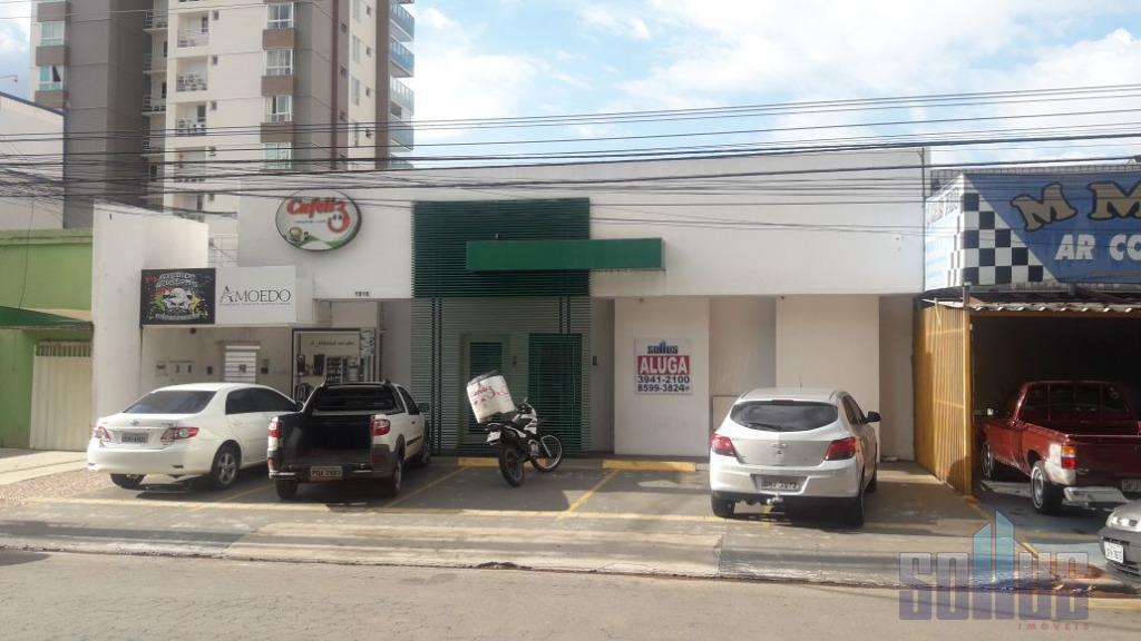 Sala comercial para locação, Setor Oeste, Goiânia.