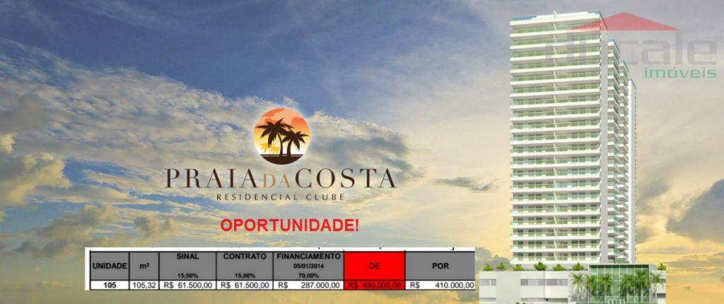 Praia da Costa Residencial Clube  Apartamento à venda, Praia da Costa, Vila Velha.