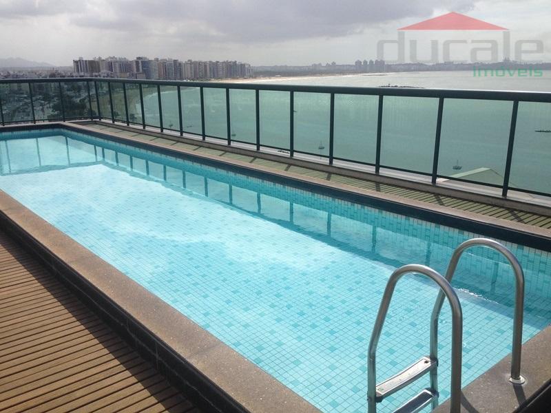 Frente para o mar de Camburi - 1 quarto apart hotel