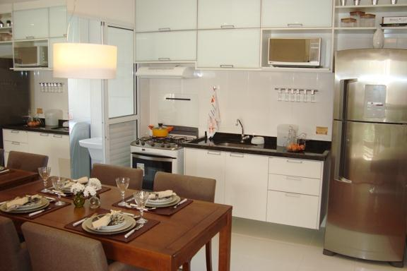2 Dorms - Living e Cozinha