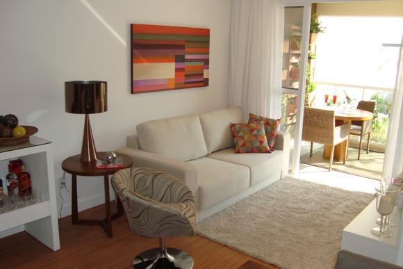 2 Dorms - Living e Terraço