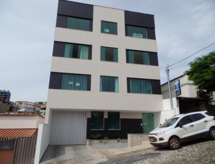 Apartamento residencial para locação, Funcionários, Barbacena - AP0043.