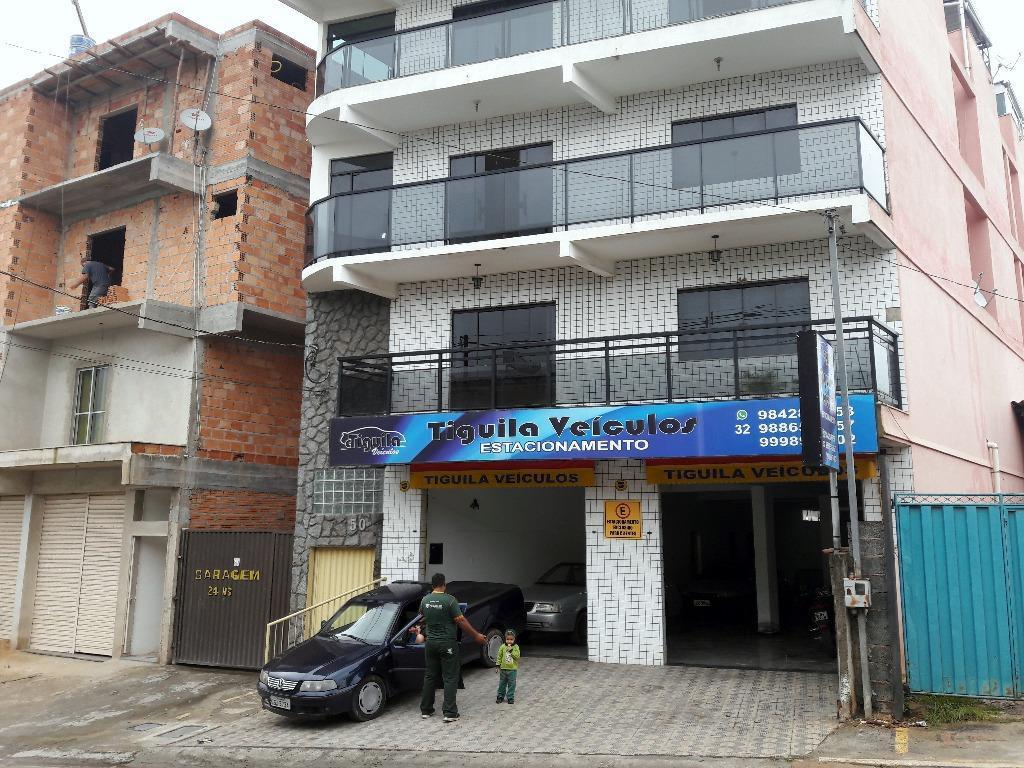 Apartamento residencial para locação, Caiçaras, Barbacena.