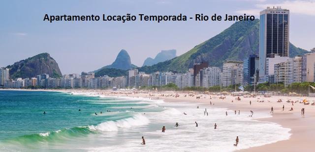 Apartamento temporada para locação, Copacabana, Rio de Janeiro.