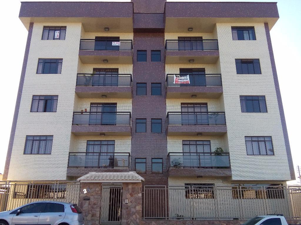 Apartamento residencial à venda, Santa Tereza I, Barbacena.
