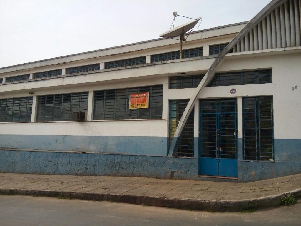 Galpão comercial para locação, Centro, Barbacena.