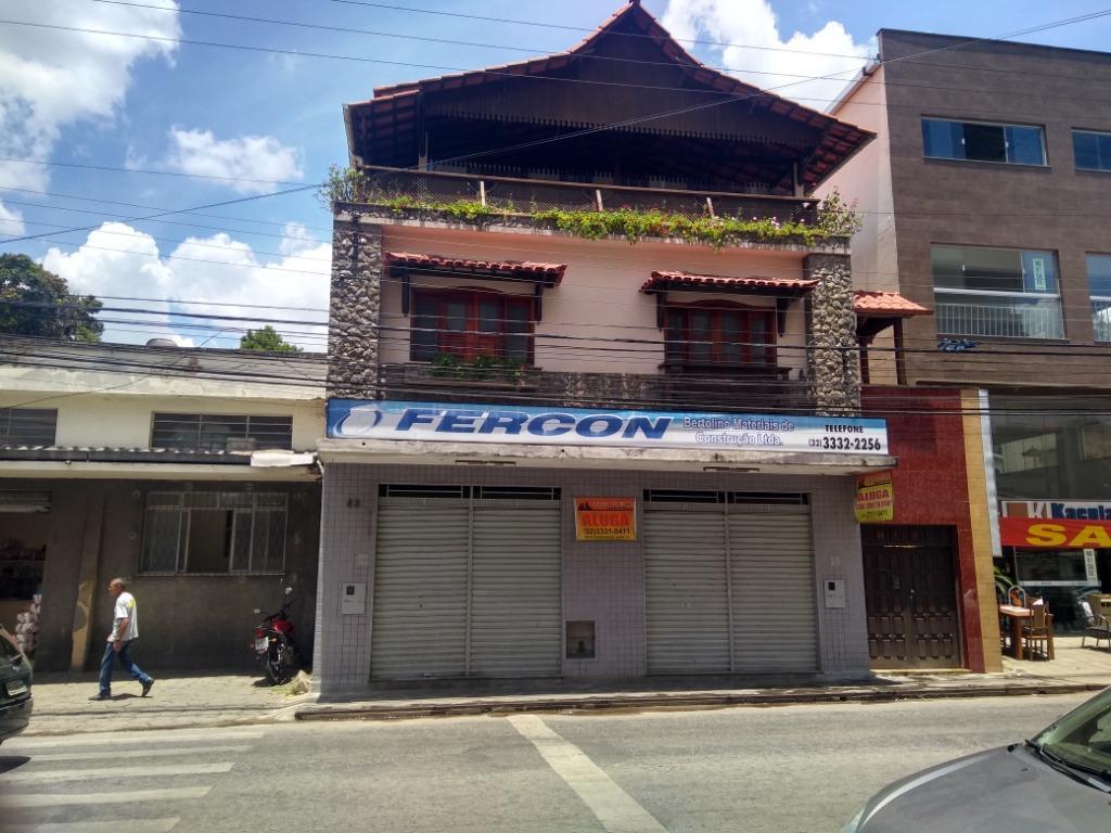 Loja comercial para locação, Pontilhão, Barbacena.