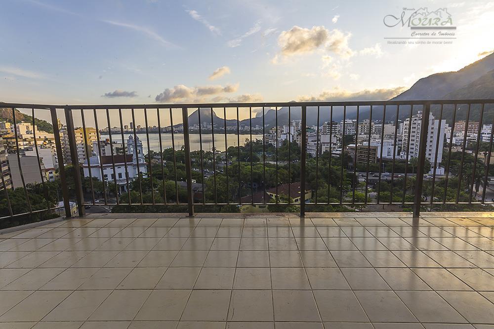 Apartamento  residencial à venda, Lagoa, Rio de Janeiro.